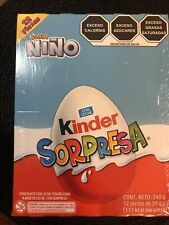 12 New Kínder Chocolate Eggs With Surprise For Boys Para Niño
