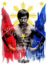 Manny Pacquiao WH Boxing Poster New 4LUVofBOXING 11x17 Pacman