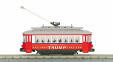 MTH 30-5197 O Donald J. Trump RailKing Bump-n-Go Trolley