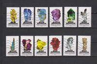 Serie Los minerales del mundo de Francia sellos adhesivos 2016