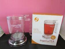 NEW! ADAGIO Loose Tea 16 oz ingenuiTEA Bottom Dispensing Teapot