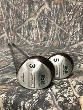 RIGHT HANDED GOLF CLUB VOIT TOUR SERIES TITANIUM 3 & 5 WOOD. Lamkin Grip