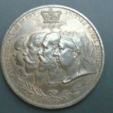 More details for 1897 victoria diamond jubilee four generations of the british royal family medal