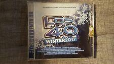 COMPILATION  - LOS CUARENTA 40 WINTER 2017. 2 CD