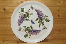 "Portmeirion Botanic Garden Lilac 12"" Cake / Pizza Plate, 12"""