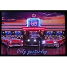 """Only Yesterday Neon Sign Led Picture 35""""x23"""""""