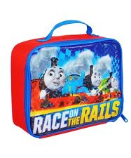THOMAS the TANK ENGINE TRAIN Boys Lead-Free Insulated Lunch Tote Box NWT $20