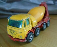 MATCHBOX SERIES no 21 SUPERFAST  FODEN CONCRETE TRUCK  ,MADE IN ENGLAND