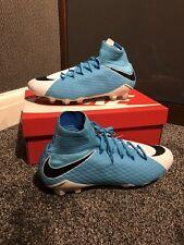 Nike Hypervenom Phatal Iii Dynamic Fit FG 878640104 Blue & White