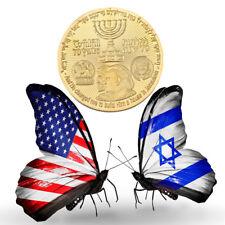 1x Half Shekel King Cyrus Donald Trump Jewish Temple Mount Israel Coin LIMITED S