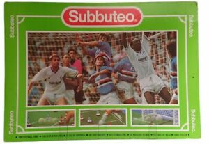 Subbuteo Table Soccer 60140 - 3 Flags Missing But Includes Ref & 2 Linesmen