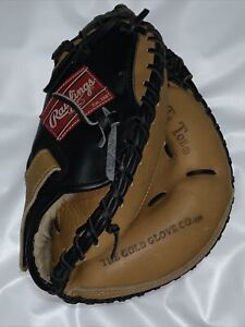 "Rare Rawlings RCM33TB Player Preferred Catchers Mitt 33"" LH Left Handed Lite Toe"