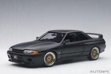 AutoArt 1/18 Nissan SKYLINE GT-R (R32) V-SPEC II 77418 NEW in Box MATT Black