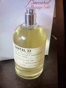 Le Labo Santal 33 Eau De Parfum  3.4oz/100ml Never Been Used New FRESH STORED