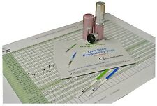 Fertility Saliva Test Kit + 5 Ovulation + 5 Pregnancy Urine Strips + Free Chart