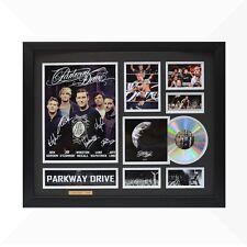 Parkway Drive Signed & Framed Memorabilia - 1CD - Black/Silver Edition