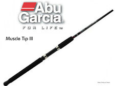 """Abu Garcia 3-6kg Muscle Tip III 6'6"""" 2pc Spin Fishing Spinning Rod Solid Tip"""