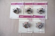PLUMB PAK SADDLE TEE 1/2in FIP OUTLET PP855-30 IRRIGATION BRASS SET OF 5 NEW