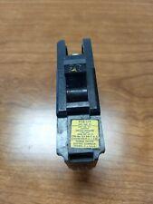FPE type NA STAB LOK CIRCUIT BREAKER 20 AMP 1 POLE 120/240 FEDERAL PACIFIC,WIDE