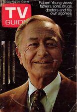 1970 TV Guide June 6 - Robert Young; Doc Severinsen; Roller Derby; Cap Kangaroo
