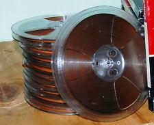 """The Reel-To-Reel Store: 10 blank  7"""" reels Reels Ampex 641 recording tape"""