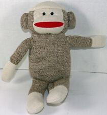 Kohls Cares for Kids SKIPPY JON JONES Brown SOCK MONKEY STUFFED PLUSH Soft Toy