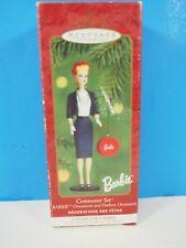 "Hallmark Christmas Ornament Barbie ""Commuter Set"""
