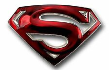 Superman Belt Buckle USA DC Comics American Superhero Movie Logo  Mens Metal New