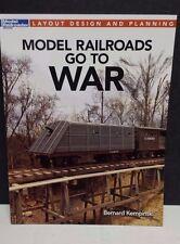 Model Railroads go to War Kalmbach Book Bernard Kempinski 12483 FREE SHIP