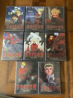 Trigun Anime DVD Lot Of 8 - Pioneer - Near Complete