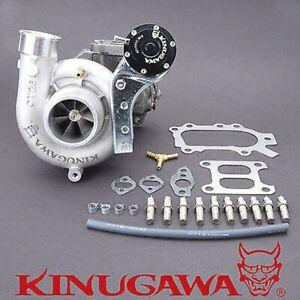 Kinugawa Turbocharger For TOYOTA 3SGTE Celica ST185 CT26-Garrett 60-1 Twin Entry