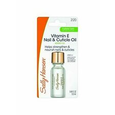 Sally Hansen^*VITAMIN E NAIL & CUTICLE OIL Helps Strengthen & Nourish #2120
