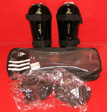 adidas adiPure Chrome Soccer Shinguard's New in Package Small Black/Gold