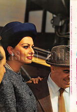 1963, Sophia Loren / Elvis Presley Japan Vintage Clippings 3sc7