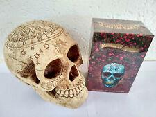 Jeu de tarot divinatoire Santa Muerte neuf en Français 78 cartes + livret