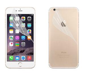 Eloja® Schutzfolien Set Apple iPhone 7 (vorn und hinten)