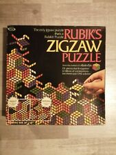 Complete Rubik's Zigzaw Puzzle from 1982. Vintage Jigsaw by Ideal Games.