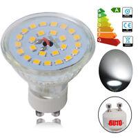 8x/20x 6W GU10 LED Bulbs 50W Spotlight 7W=60W SMD Lamps Brightness Energy Save