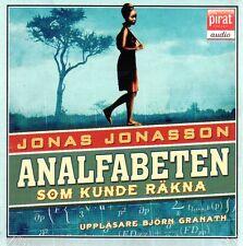 CD HÖRBUCH SCHWEDISCH: Analfabeten Som Kunde Räkna, Jonas Jonasson, NEU