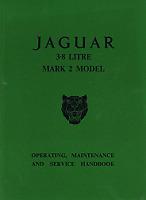Jaguar 3.8 Litre Mk 2 Official Operating Handbook Mk Ii