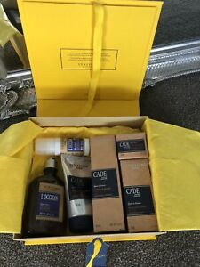 "L'Occitane Mens ""Cade"" Grooming & Skincare Gift Pack NEW RRP$250+"