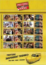GB 2021  Only Fools and Horses Smilers/Collector Stamp Sheet - GS133/LS131