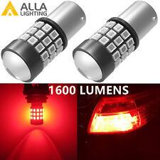 Alla Lighting 39-SMD 1156 BA15S LED Brake Stop Light Bulbs Lamps, Red