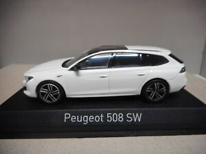 PEUGEOT 508 SW GT 2018 WHITE 1:43 NOREV 475826
