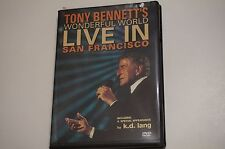 Tony Bennett's Wonderful World: Live In San Francisco k.d. lang VG