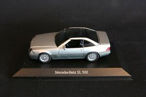 Schabak Mercedes-Benz 500 SL Hard top 1:43 grey (JS)