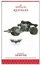 2013 Hallmark Batman The Dark Knight Trilogy Bat-Pod Limited Quantity Ornament!