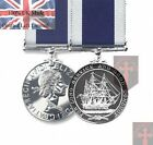 Official LS&GCM Royal Navy Long Service & Good Conduct Miniature Medal + Ribbon
