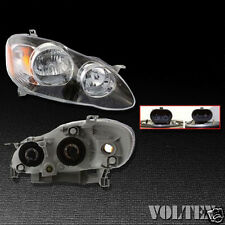 2005-2008 Toyota Corolla Headlight Lamp Clear lens Halogen Right Side