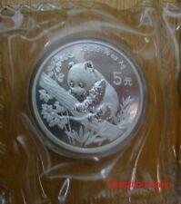 1995 panda 1/2oz silver small date coin shenyang mint